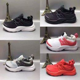 Girls canvas boots online shopping - 2018 Chaussures Pour Enfants Baby Girl Boys Sport Shoes Presto Sneakers Kids Boots Children Walker designer Shoes Eur