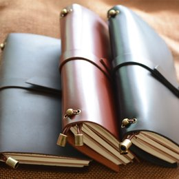 Travel Gifts For Women Australia - Leather Travel Journal, Handmade Travelers Notebook Refillable, Gift for Men & Women, Perfect to write in, 3 Inserts 192 Pages