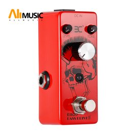 metal effect pedal Australia - EX Bass Micro Pedal EBOD Overdrive Pedal Bass Effect Pedal Full Metal Shell True