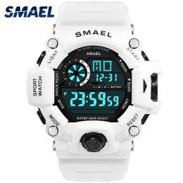 $enCountryForm.capitalKeyWord Australia - Sport Quartz Digital Watches Male Watch Smael Sport Watch Men Waterproof Relogio Masculino Clock White Digital Military Watches Y19061905