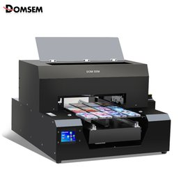 $enCountryForm.capitalKeyWord Australia - A3 Size UV Flatbed Printer Automatic 6 color Digital Printer For Phone Case Metal Wood Glass Multifunction Printing Machine