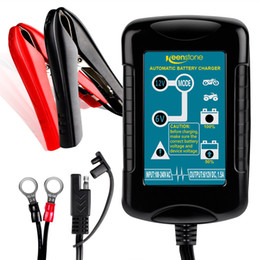 $enCountryForm.capitalKeyWord Australia - Battery Charger Maintainer 6V&12V 1.5Amp, 4-Step Charging for Auto Car Motorcycle Lawn Mower SLA ATV AGM GEL CELL Lead Acid Batteries