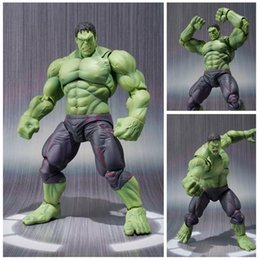 $enCountryForm.capitalKeyWord Australia - New Hot 22cm Avengers Super Hero Hulk Movable Action Figure Toys Christmas Gift Doll With Box