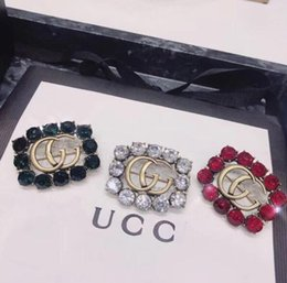 d04d58c0f6e Brooches pins sale online shopping - Designer Hot Sale Grace Ladies Brooch  Metal Hollowed Out Rhinestone