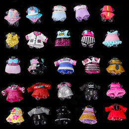 $enCountryForm.capitalKeyWord Australia - 15pcs original clothes for lol series 3 4 5 Girls Doll Accessories DIY doll Dress Different clothes Toys for Baby Kids toys