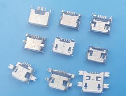 $enCountryForm.capitalKeyWord Australia - 900Pcs 9 Kind Micro USB Type B Female 5Pin Socket PCB Connectors Each 10
