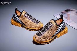 $enCountryForm.capitalKeyWord Australia - 2019 Women Men's shoes Unisex style Luxury casual shoes rhinestone Slip-on Designer shoes size 35-46 model milan