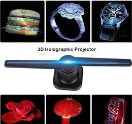 2019 NUEVA TENDENCIA 42 cm LED 3D Holográfico WIFI Proyector controlado Pantalla publicitaria 32GB Holograma Jugador Ventilador de la lámpara en venta