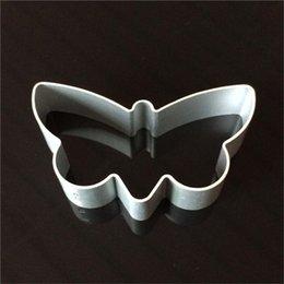 Ingrosso Strumenti a forma di farfalla Sugarcraft Buscuit Decorazione fai da te stampi biscotti cottura pasticceria taglierina stampo in lega di alluminio strumenti