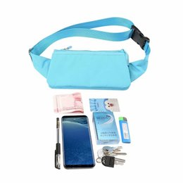 Inch phone wallet case online shopping - 6 inch Universal Phone Bag Pouch For Iphone XR XS Max Plus Mobile MP4 Earphone Cable Sport Travel Bag Belt Hasp Zipper Purse Pocket