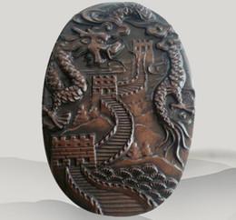 $enCountryForm.capitalKeyWord UK - Chinese old wa shi Stone Inkstone with Exquisite carving dragon
