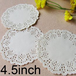 $enCountryForm.capitalKeyWord Canada - 1000 Pcs 4.5inch 114Mm White Round Lace Paper Doilies   Doyleys Coasters   Placemat Craft Wedding Christmas Table Decoration