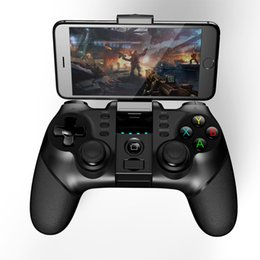 Tablet Wireless Controller Australia - Wireless Bluetooth Gamepad Controller Joystick Game Pad for Smartphones TVs Android iOS Tablet PC Computer Mac OSX PG-9077