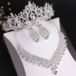 $enCountryForm.capitalKeyWord NZ - 2019 Hot Sale Wedding bridal jewelry set luxury designer jewelry women rings Necklace diamond luxury designer jewelry women accessories