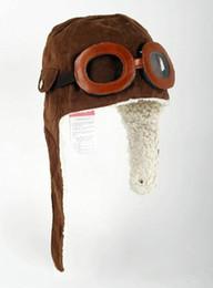 Kids boys winter ear muffs online shopping - 2019 Cute Baby Toddler Boy Girl Kids Pilot Aviator Cap Warm Hats Earflap Beanie Children s Hats