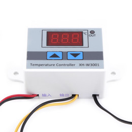 Controller Probe Australia - Freeshipping AC 220V Digital Thermostat Digital Thermostat Control Temperature Controller Switch with Probe New Arrival