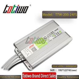 $enCountryForm.capitalKeyWord NZ - TOTIWO IP67 Waterproof AC110V AC220V to DC 24V 8.33A 200W Switching SMPS Power Supply LED Driver Waterproof Transformers constant voltage
