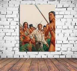 $enCountryForm.capitalKeyWord Australia - I Lived In An Amazing Amazon Female Village,HD Canvas Print Home Decor Art Painting (Unframed Framed)