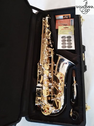best key case UK - Professional Brand New Japan Yanagisawa A-WO37 Alto Saxophone Gold Key Super Top Best QualitySax With case Reed mouthpiece