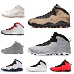ee8c40bd2ac2 New 10 Desert Camo Tinker Cement Huarache Light Mens basketball shoes  Westbrook 10s Trainers Class of 2006 Cool Grey Powder Blue Sneakers