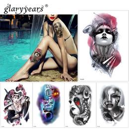 $enCountryForm.capitalKeyWord Australia - glaryyears 1 Pc Temporary Tattoo Sticker Beautiful Fake Tatoo Woman Flash Tatto Waterproof Small Body Art Men Women TH Link 05
