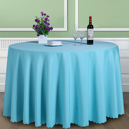 $enCountryForm.capitalKeyWord NZ - Solid Color 100% Polyester Round Table Cover Fabric Square Dining Table Cloth Tablecloth Hotel Office Wedding Booth Setting T8190620