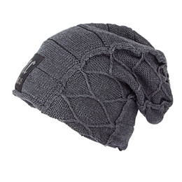 eaa172cb Knitted Hat Patterns For Adults Australia - Super cool Skull pattern hats  for men beanies Knitted