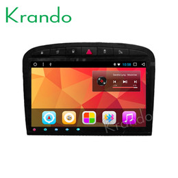 "$enCountryForm.capitalKeyWord Australia - Krando Android 8.1 9""Full touch car Multimedia player for Peugeot 408 2010-2013 navigation system radio player gps wifi BT car dvd"