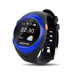 gps locate 2019 - ZGPAX S888 Upgrade Smart Watch Phone SOS LBS Wifi Locate Anti Falling Alarm Remote Smartwatch Safety GPS Watch for Child