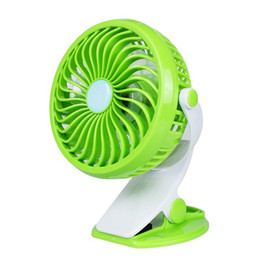 bedding clips UK - Hot sale Portable Mini USB Desk Fan Home Student Dorm Bed Clip Fan ABS Electric Desktop Air Cooler Fan free shipping