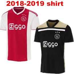 adultes Ajax chemises 2018 2019 Loisirs Meilleure qualité chemise pour adulte Personnalisé KLAASSEN NOURI uniforme T-shirt décontracté livraison gratuite en Solde