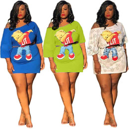$enCountryForm.capitalKeyWord Australia - Womens Two Piece Skirt Fashion Print Bear Mini Dress Summer Fashion Ladies Bresses Beach Party Plus Size Dress Clothing S-3XL 877