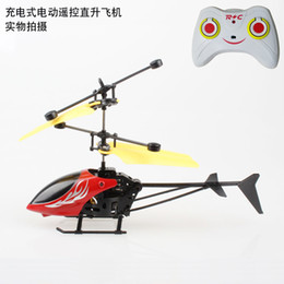 wholesale toys helicopter Australia - Special Children's Toys Wireless Remote Control Aircraft Mini-wrestling Helicopter Two-way Alloy Aircraft Creative Gift