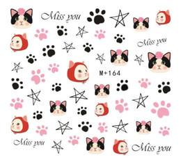 Nail New cartooN online shopping - New Korean and Korean watermark nail stickers cute cartoon nail stickers aiming at stars m