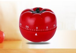 $enCountryForm.capitalKeyWord Australia - 2018 New Designed Creative Tomato Shape Cooking Timer Mechanical Countdown Timer Alarm Clock Kitchen Gadgets Tools Hot Sale Chrismas Gifts