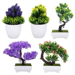 Bonsai Gifts UK - Artificial Bonsai Fake Blossom Flower Potted Plant Home Office Decor flower home