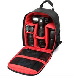 Multi Camera Bags Australia - Suitable for nikon, Canon outdoor waterproof, wear-resistant casual nylon backpacks waterproof SLR backpacks multi-function camera bag