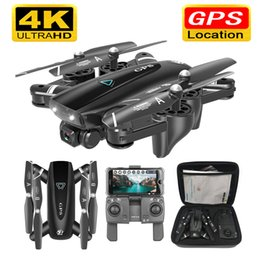 hd video camera drone NZ - S167 GPS With Camera 5G RC Quadcopter Drones HD 4K WIFI FPV Foldable Off-Point Flying Photos Video Helicopter Toy