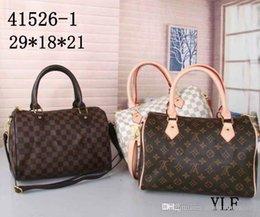 2019 Women messenger bag Classic Style Fashion bags women bag Shoulder Bags Lady Totes handbags Speedy With Shoulder Strap Dust Bag on Sale