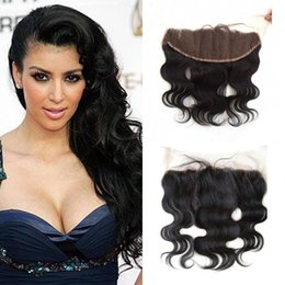 $enCountryForm.capitalKeyWord NZ - Brazilian Hair Body Wave 13x4 Lace Frontal Closure Free Middle Part Non Processed 100% Unprocessed human Hair LaurieJ Hair