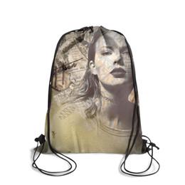 $enCountryForm.capitalKeyWord UK - Drawstring Sports Backpack Taylor swift reputation pop music outdoor daily Travel Beach Pull String Backpack
