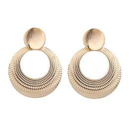 Jewelry & Accessories Women Circle Jewelry Bohemian Beach Square Straw Weave Dangle Rattan Geometric Holiday Earrings Wooden Drop Earrings Wedding Low Price
