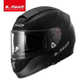 Discount build face - LS2 VECTOR fiberglass full face motorcycle helmet can be built-in Bluetooth headset racing moto ls2 ff397 helmets ECE ap