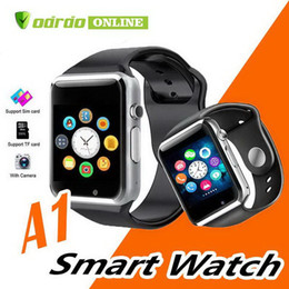 bluetooth smart watch sim Australia - A1 Smart Watch Bluetooth DZ09 GT08 Touch Screen Smartwatch Apple iWatch Support SIM TF Card Smart Watches for Smartphone With Retail Package
