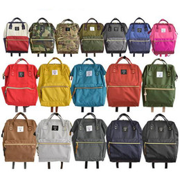 Discount korean style girls top - 2019 Luxury brand Made Factory Classic Travelling Bag Casual School Bags For Students Japanese Style High Capacity Handb