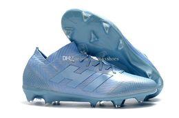 $enCountryForm.capitalKeyWord Australia - Hot Nemeziz 18.1 18 Fg Messi Soccer Mens 18 X Football Shoes Agility46 Bandage Spectral Mode Soccer Boots Cleats Size Us6.5-11