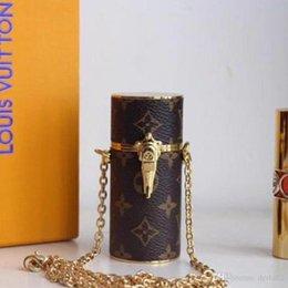 Luxury Lipsticks Australia - 2019 New Famous Designer luxury Lipstick box high quality Shoulder handbags Lipstick Bag shoulder Ladies Bag