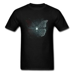 clothing designer clothes UK - Butterfly Effect T-shirt Men T Shirt Modern Designer Tops Tees Choose Wisely Epigram Tshirt Mens Movie Clothes Cool