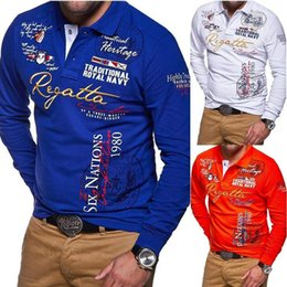 Casual Long Sleeve T Shirts Australia - Zogaa Summer T-shirts On Sale 2019 S-4xl Solid Men T Shirt Large Size Xxxxl Black Orange White T-shirt Tops Tees Long Sleeve C19041001