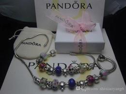 $enCountryForm.capitalKeyWord Australia - SALE Pandora Style 2018 High Grade Jewelry Women Lady Bracelets have original boxes necklace Bracelet Accessories Free Shipping